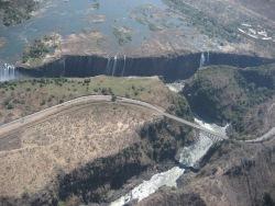 Aerial view - Victoria Falls