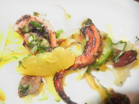 Grilled octopus and citrus - Selden Standard