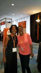 Ran into the one other blogger I personally knew: Rhonda Swan of soul-searching.com