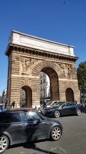 Random arch in Paris