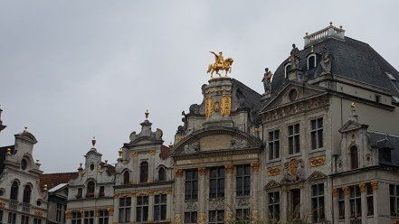 View of Grand Place - Brussels
