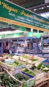 Organic market in Le Marais