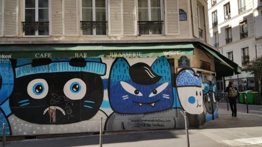 Street art in the neighborhood