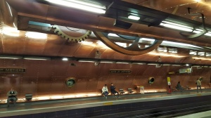 Arts et Metiers subway station
