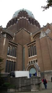 Basilica exterior - Brussels