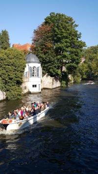 Brugge by boat