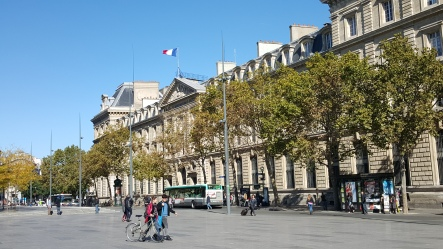Buildings adjacent to Place de la République