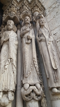 Chartres Cathedral sculpture