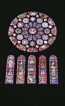 Rose window - chartres cathedral