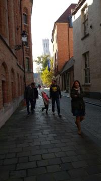 Strolling in Brugge