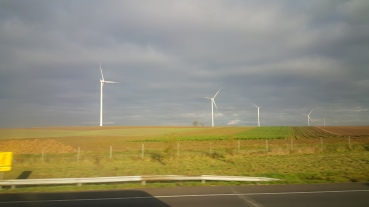 Wind farm somewhere in Belgium