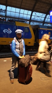 Amsterdam Centraal - en route to Paris