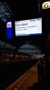 Amsterdam Centraal - train platform