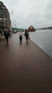Cyclist in training - Amsterdam
