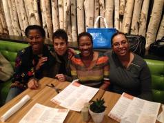 Kim Lisa Rhonda and Zee at True Food Kitchen 2014