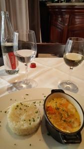 Entree seafood pot and rice - La Bonne Cecile - Paris