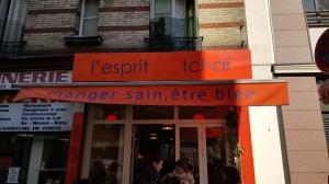 Vegetarian gluten-free in Paris