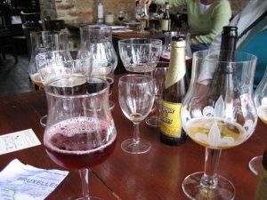 Belgian beer-tasting