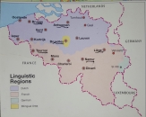 Belgium map from Insight Guides Belgium