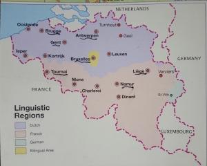 Belgium map from Insight Guides Belgium