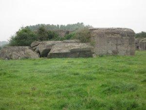 German WW II bunker - Flanders, Belgium