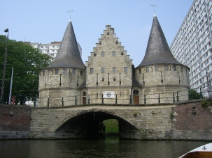 Ghent - Medieval structure