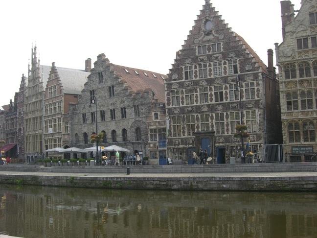 Ghent guildhouses