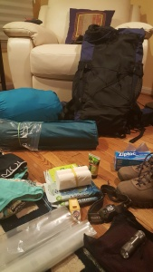 Backpacking and camping gear