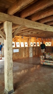 Gallery space at Nowhere Else barn