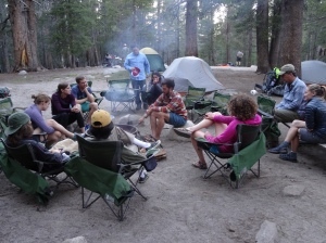 1st Night BP Camp - Tuolumne Meadows - Yosemite