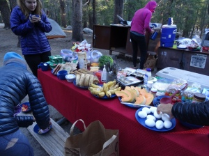 First Morning - Backpackers Camp - Yosemite