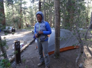 KAH at Backpackers Camp 2 - Tuolumne Meadows - Yosemite