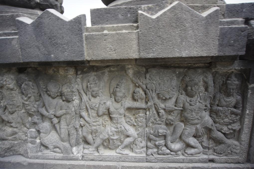 prambanan bas relief 3
